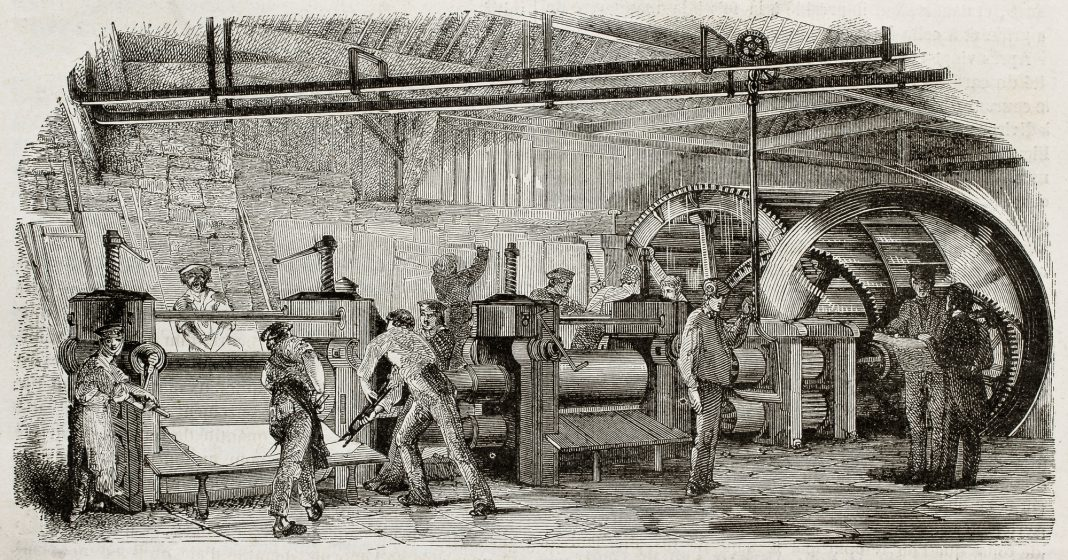 The brief history of etching creation